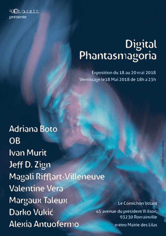 Digital Phantasmagoria, l'exposition