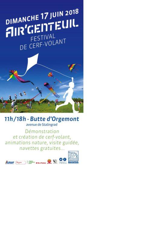 Air'genteuil - Festival de cerf-volant