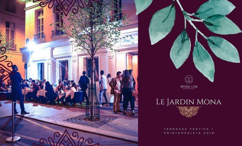 Jardin Mona - Terrasse Festive - Printemps/Ete 2018