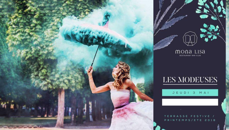 Les modeuses - Terrasse Festive & Club - Mona Lisa