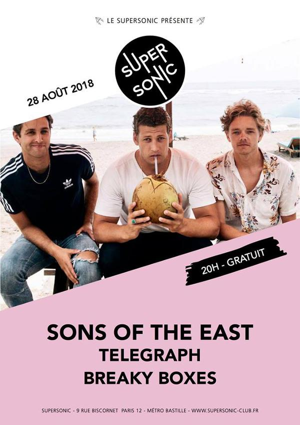 Sons of the East • Telegraph • Breaky Boxes / Supersonic