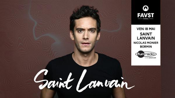 FAUST présente : Saint Lanvain, Nicolas Monier, BORMIN