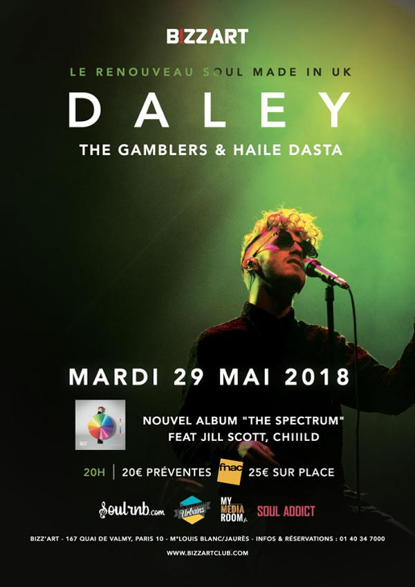 DALEY LIVE @BIZZ'ART