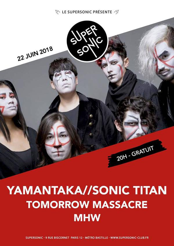 Yamantaka // Sonic Titan • Tomorrow Massacre • MHW / Supersonic