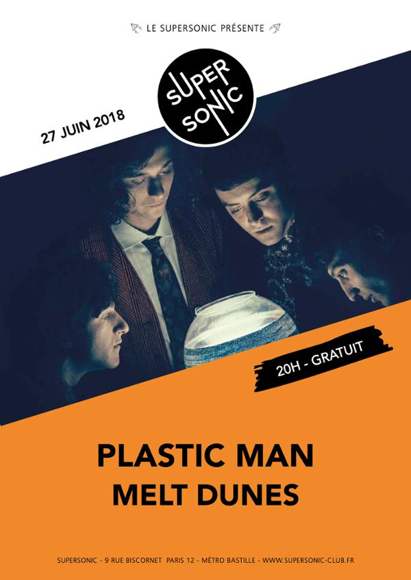 Plastic Man • Melt Dunes / Supersonic - Free