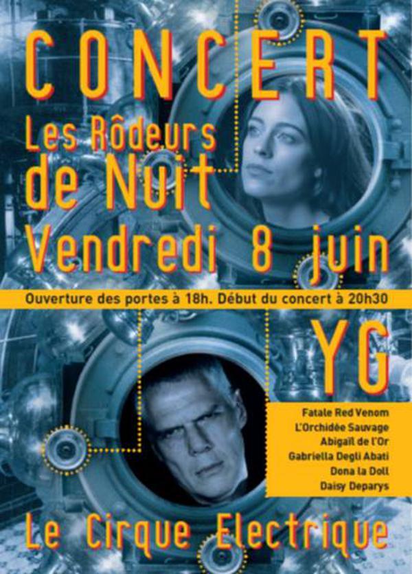 YG et Les Rôdeurs De Nuit en concert
