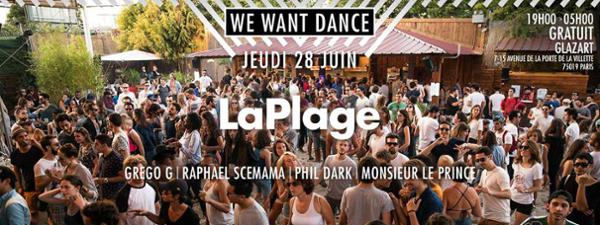 Plage We Want Dance
