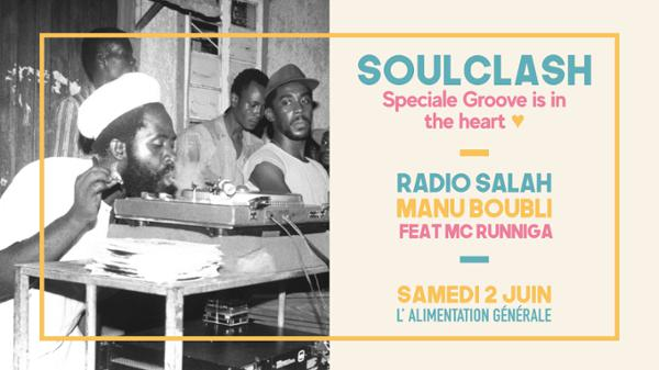 THE SOULCLASH X SPECIALE GROOVE IS IN THE HEART