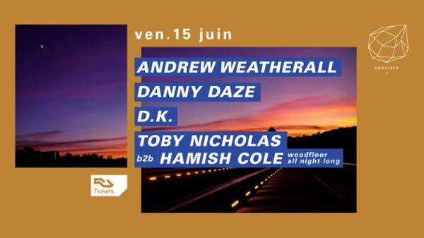 Concrete : Andrew Weatherall, Danny Daze