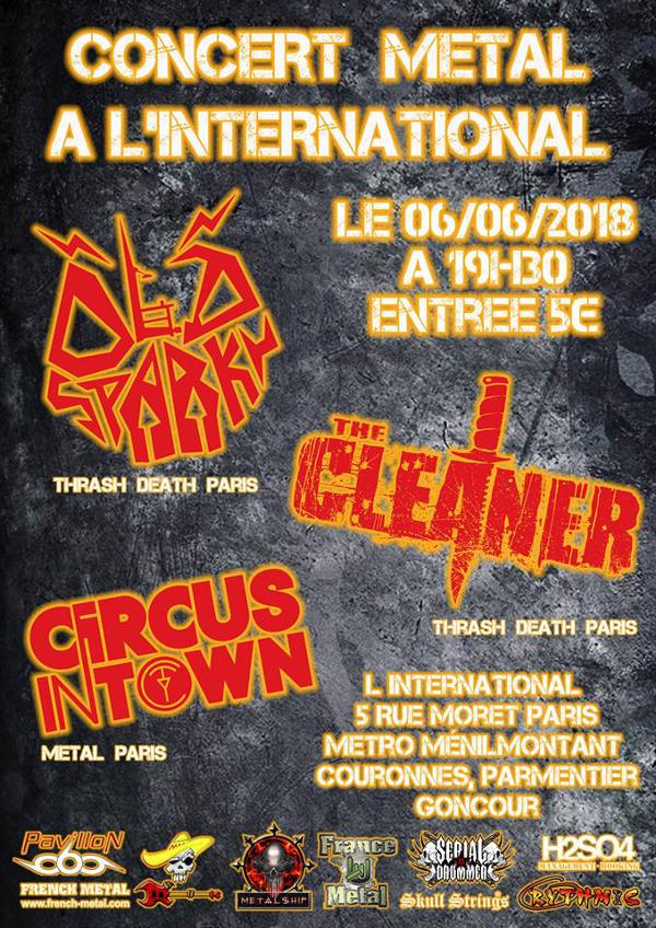 Old Sparky • The Cleaner • Circus In Town