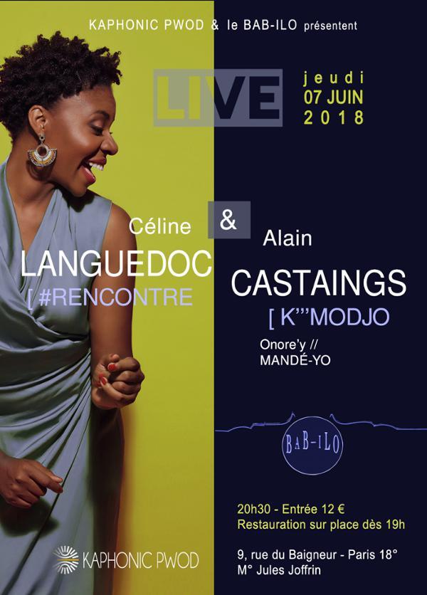 Céline LANGUEDOC // Alain CASTAINGS - Concert Live