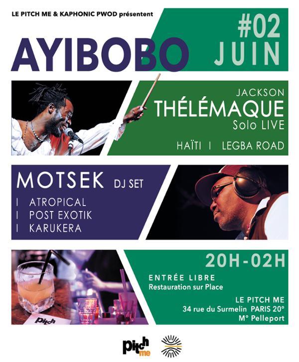 Ayibobo! - MOTSEK & Jackson THÉLÉMAQUE / Atropical