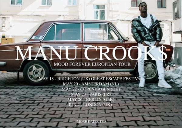 Manu Crook$ :: 23.05.18 :: Le Pop up du Label :: öctöpus