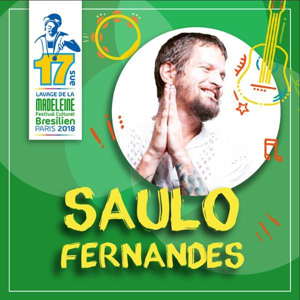 SAULO FERNANDES - Festival Le Lavage de la Madeleine