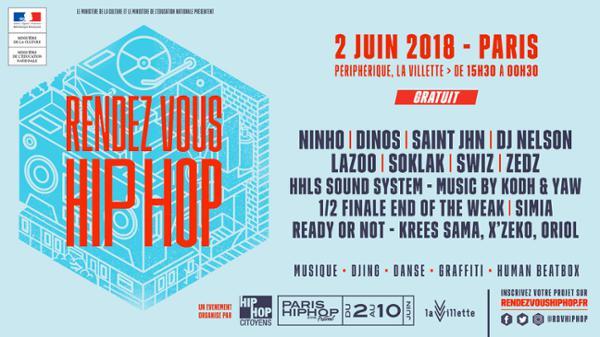 Ninho, Dinos, SAINt JHN - Rendez-vous Hip Hop Paris | Gratuit