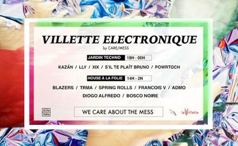 Fête de la Musique 2018 : Villette Électronique - A LA FOLIE
