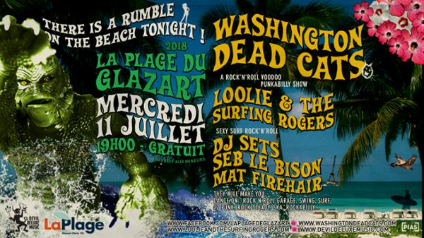 Washington Dead Cats, loolie & the surfing rogers