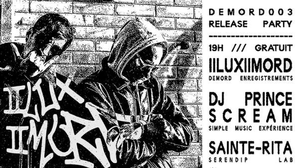 DEMORD  II LUX II MORD  DJ Prince Scream  Sainte-Rita
