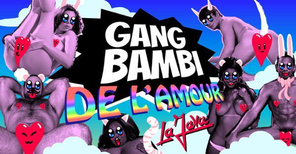 Gang Bambi de l'Amour - Pride Edition