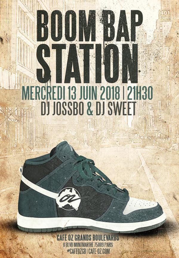 Boom Bap Station #Juin