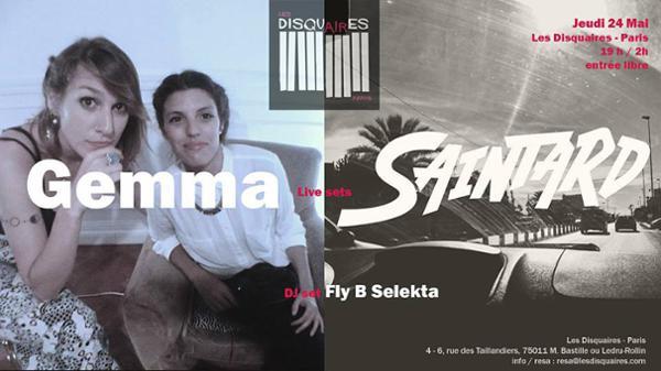Soul Nite : Gemma X Saintard X Fly B Selekta