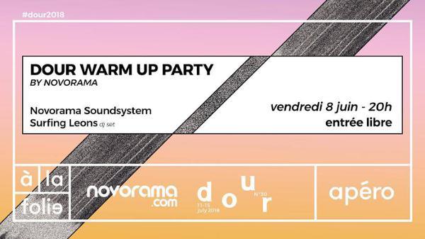 Dour A La Folie - warm up party