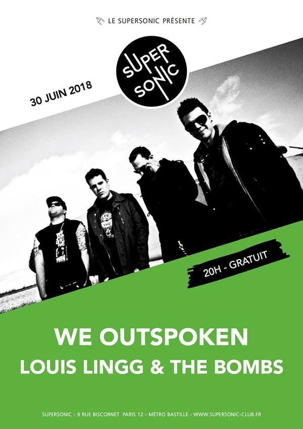 We Outspoken • Louis Lingg & The Bombs / Supersonic - Free