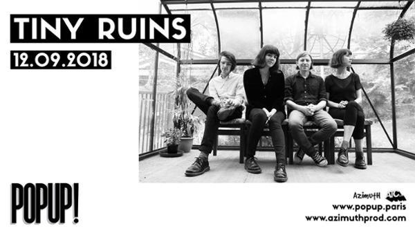 Tiny Ruins - 12.09.2018 au Pop-Up!
