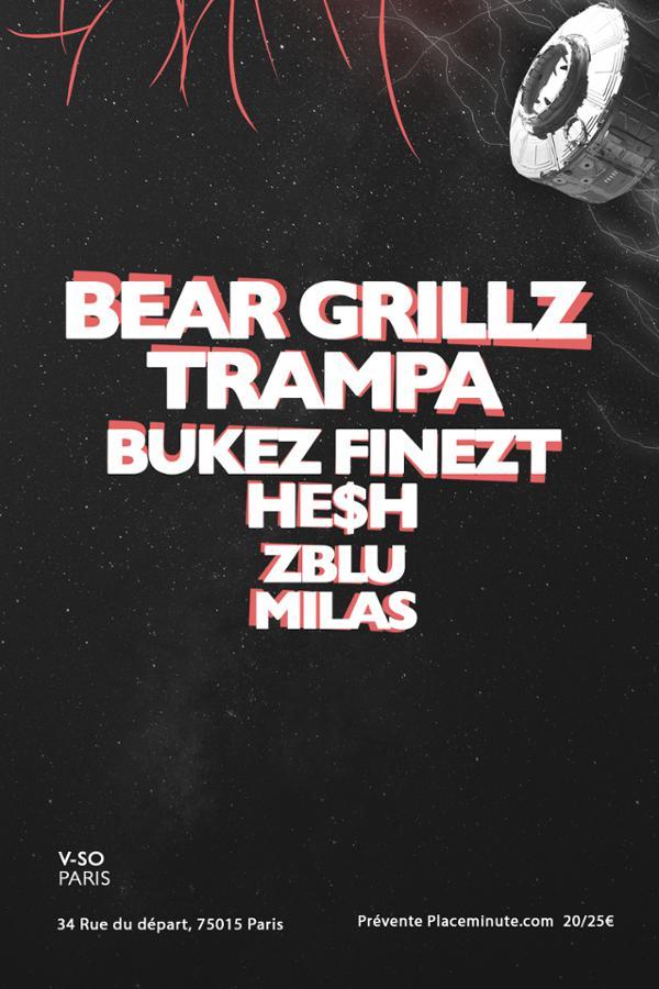 DROP IN BASS - BEAR GRILLZ & TRAMPA & BUKEZ FINEZT & HE$H