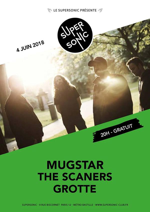 Mugstar • The Scaners • Grotte / Supersonic - Free