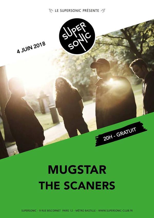 Mugstar • The Scaners / Supersonic - Free