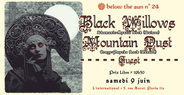 Below The Sun#24: Black Willows + Mountain Dust + Catapult the Rhino