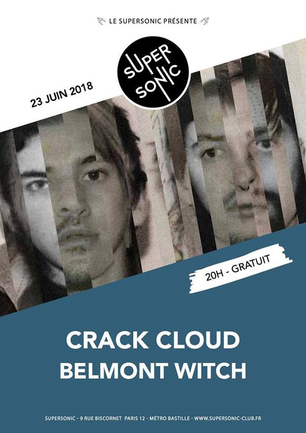 Crack Cloud • Belmont Witch / Supersonic - Free