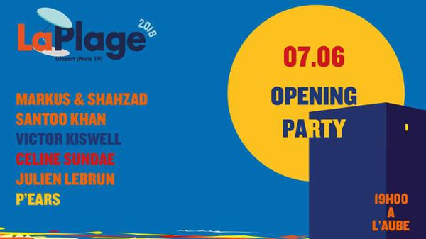 LaPlage 2018 Opening