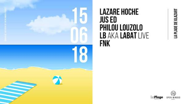 Open Minded Part w/ Lazare Hoche • Jus Ed • Philou Louzolo • LB aka Labat live • FNK