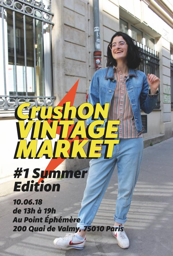 CRUSH'ON VINTAGE MARKET : SUMMER EDITION