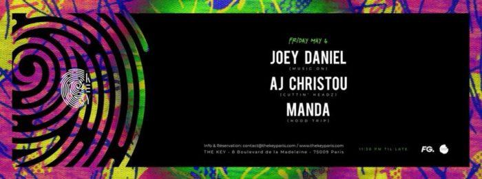 The Key Presents Celesta Showcase Joey Daniel, AJ Christou,Manda