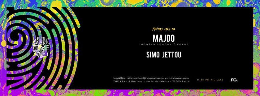 The Key Presents : Majdo, Simo Jettou