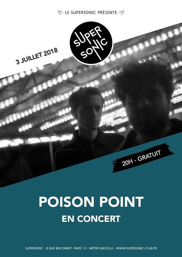 Poison Point (Coldwave, EBM) en concert au Supersonic