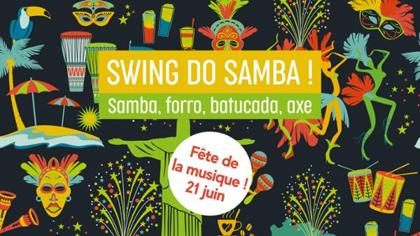Fête de la musique ! Swing do samba // Alimentari