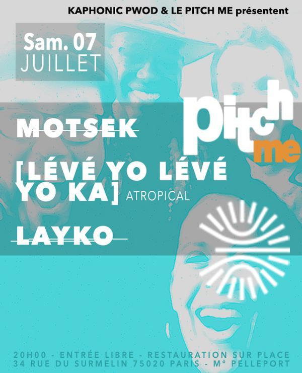 Lévé Yo Lévé Yo Ka - Motsek & Layko / Atropical