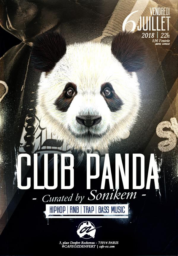 Club Panda #juillet curated by Sonikem