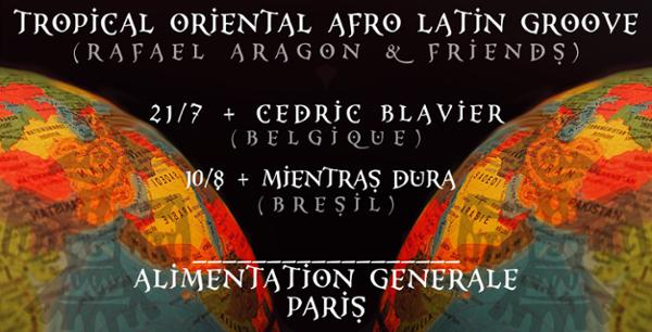 Tropical Oriental Afro Latin Groove - Rafael Aragon & Friends