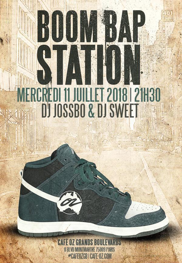 Boom Bap Station #Juillet