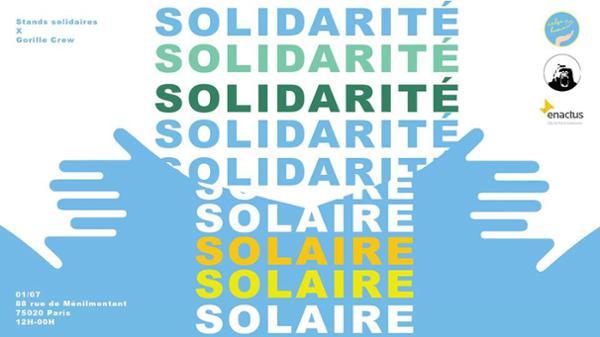 88 MÉNILMONTANT : SOLIDARITÉ SOLAIRE