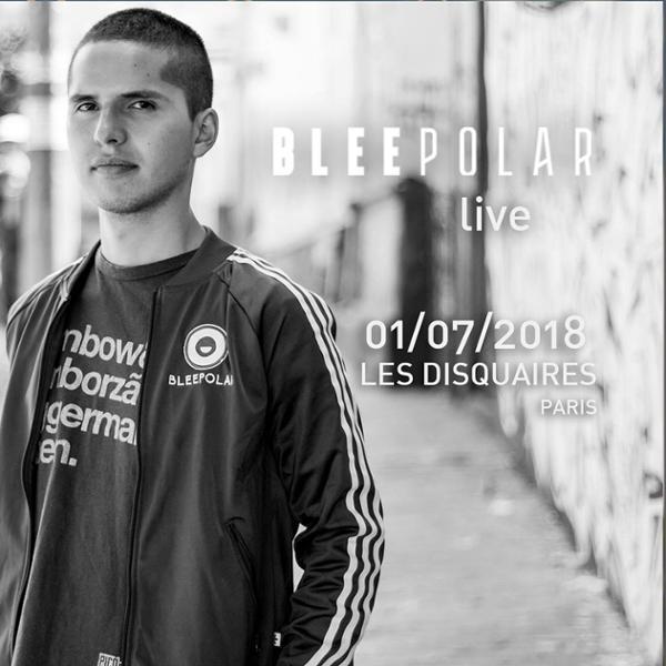Bleepolar (Colombie) live at Les Disquaires Paris