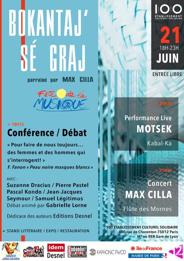 Bokantaj' sé Graj / Fête de la musique