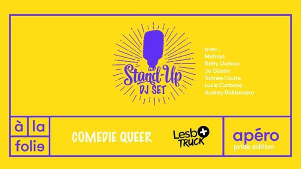 Comédie Queer #2 - Pride Edition 2018