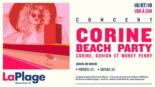 Corine Beach Party