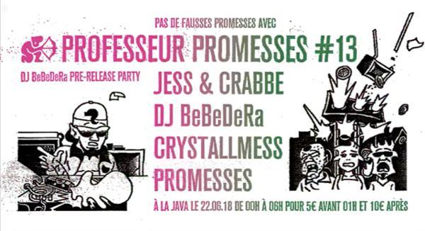Professeur Promesses #13